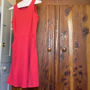 Pink Summer Dress with pockets